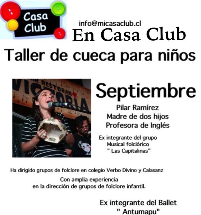 Taller de Cueca en CasaClub