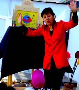 Actriz y Cuentacuentos Paula González visita Casaclub