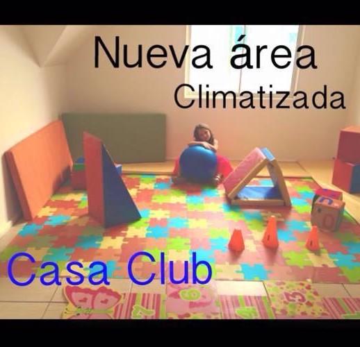 Nueva Area Climatizada en Casaclub