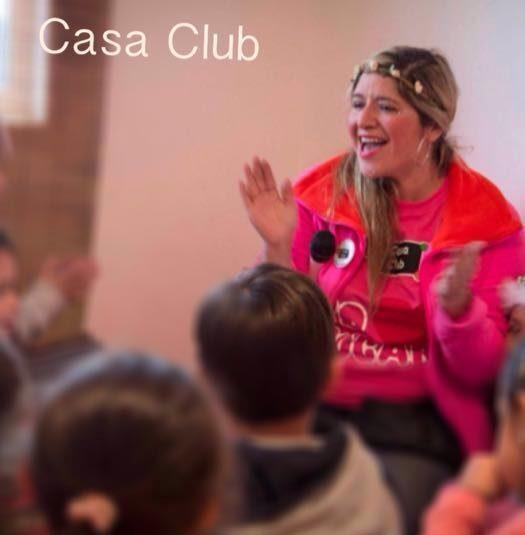 Casa Club participa en Maraton de Cuentacuentos